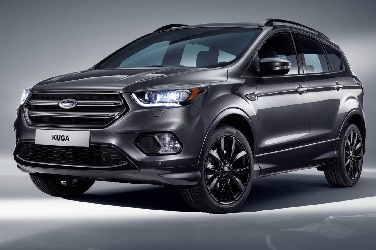 2016 ford kuga gris fonce